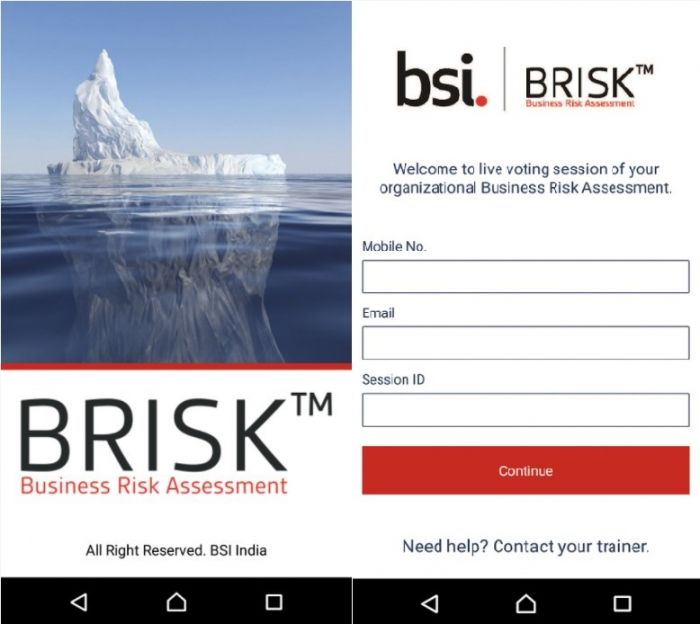 Business Risk Assesment (BRISK)